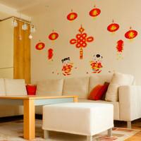 Jual Wall Sticker Imlek (Wall sticker nuansa imlek) Murah