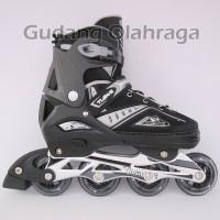 Sepatu Roda BAN KARET Anak dan Dewasa / Inline Skate Model Jahit