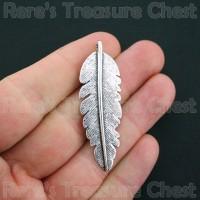 Jual Large Feather Charm Pendant - Charm Bulu Besar Murah