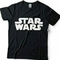 Jual Tshirt Star Wars Logo Murah
