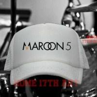 Jual TOPI TRUCKER MAROON 5 HF5 - LS Murah