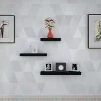 Floating Shelves/Rak Dinding Tempel Melayang/TV DVD Modern Minimalis