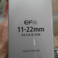 lensa canon EFM 11-22mm f/4-5.6 is stm
