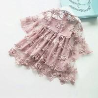 LILIGIRL Summer Girl Clothes Kids Princess Dresses Gaun Pesta Anak