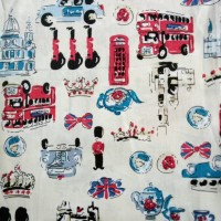 Jual Kain Katun Jepang Hello London Murah
