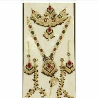 kalung india / bridal set / kalung pengantin / aksesoris india