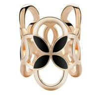 cincin / ring hiasan jilbab / syal / kerudung hitam