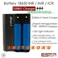 Jual Turbo Charger Eser for Battery 18650 INR / IMR / ICR Murah