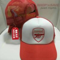 Jual Topi Trucker Arsenal - Reove Store Murah
