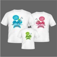 Jual Kaos Couple Ant (Tersedia Ukuran & Warna) Murah