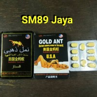 Gold ANT U.S.A - cap semut emas - Obat stamina pria