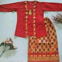 Baju Kartini anak/Stelan Kebaya/ Stelan kutubaru anak/ Batik anak5-7th