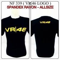 kaos oblong Valentino rossi logo vr 46 the doctor motoGP