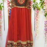 Jual abaya india/baju india/anarkali/ busana muslim/baju pesta/ maxi dress Murah