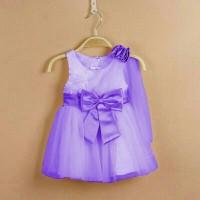 purple dres party
