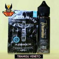 LIQUID PREMIUM TIRAMIZU VENETTO 3MG NIC - 60ML FREE NATIVE WICKS