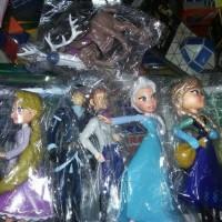 Harga miniatur mainan anak frozen dan kartun | WIKIPRICE INDONESIA