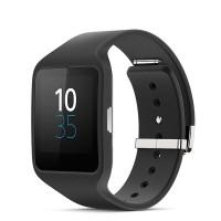 Jual Sony SWR50 Smartwatch 3 Rubber Strap - Hitam Murah