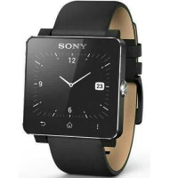 Jual SONY SE20 WRIST BAND For SMARTWATCH SW2  Leather Black Murah