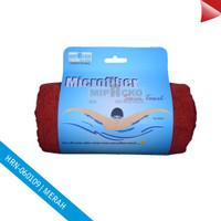 Jual Handuk Renang Microfiber RED Murah