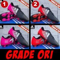 Sepatu Bola Adidas 11Pro SL putih kuning 9Sepakbola)