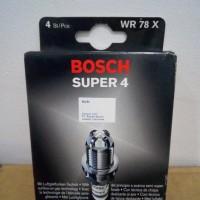 Busi Bosch Super 4 Wr78x Kepala Besar Audi, Bmw, Mercedes Benz, Vw