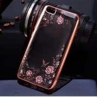 Jual Casing Silicon Case Xiaomi Mi4i/Mi 4i/Mi4G/Mi4C Flower Bling Diamon Murah