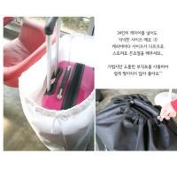 Jual Sarung Pelindung Koper Anti Debu Travel Luggage Cover  Murah