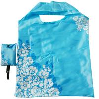 Jual Tas belanja modis lipat plastik kantong bagcu eco friendly lucu FTS026 Murah