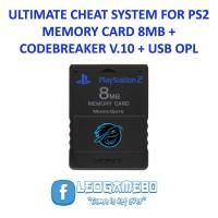 MEMORY CARD PS2 CHEAT CODEBRAKER V10 + OPL