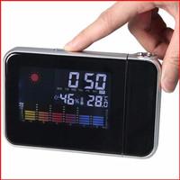 Jual SPESIAL Jam Meja Termometer Digital Proyektor Jam Alarm - NF52788 MURA Murah