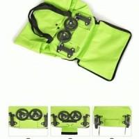 Jual Wallet Trolley Bag (  Trolley bag yg dapat dilipat jadi dompet ) Murah