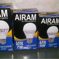 LAMPU BOHLAM LED 7W MERK LANGGENG CAHAYA PUTIH