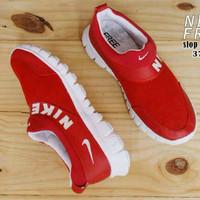 Jual PROMO Sepatu wanita olahraga ringan senam zumba joging santai nike fre Murah