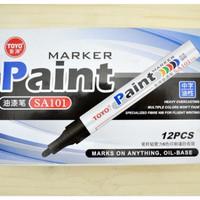 Jual Spidol ban motor mobil Toyo Paint marker SA101 original import KSY096 Murah