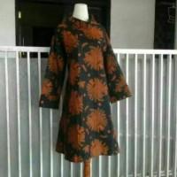 tunik/dress batik sogan