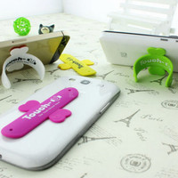 Jual T TERMURAH stand hp handphone mount docking mini elastis TOUCH-U murah Murah