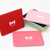 Jual T TERMURAH Dompet kartu mini warna warni ribbon import korea lucu mura Murah