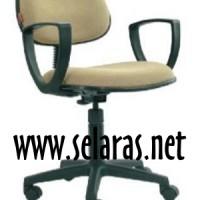 Kursi Kantor Sekretaris/Staf Chairman SC 208 Manual Arm Rest