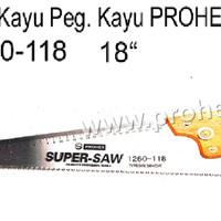"""Gergaji Kayu Hitam 18"""" Gg. Kayu Prohex 1260-118"""