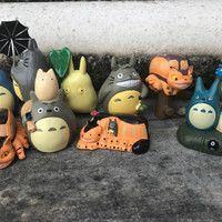 action figure anime set totoro jepang