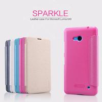 Jual BARU Flip Case Nillkin Microsoft Lumia 640 Sparkle Series Murah