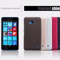 Jual TERMURAH Hard Case Nillkin Microsoft Lumia 640 ( Free Anti Gores) Murah