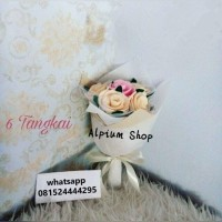 Jual Buket Bunga Mawar / Kado Wisuda / Pernikahan /Ultah / Hadiah /Souvenir Murah