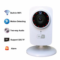 Jual Mini IP Wifi SD CCTV Wireless Camera HD 720P Smartphone Audio CAM Baby Murah