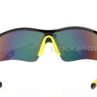 Jual Kacamata Rockbros sepeda untuk gowes warna hitam motor, TERLARIS Murah