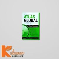 Jual BUKU ATLAS GLOBAL UNTUK SD/SMP/SMA & UMUM : 7 BENUA 34 PROVINSI Murah