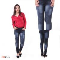 Jual Celana Panjang Skinny Laser Jeans Wanita JSK 4 Varian Warna Murah