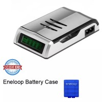Jual Smart Quick Charger AA Atau AAA C905W Free Eneloop Battery Case Murah