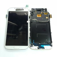 SAMSUNG GALAXY S4 I9500 LCD TOUCHSCREEN DAN FRAME COMPLETE 1SET